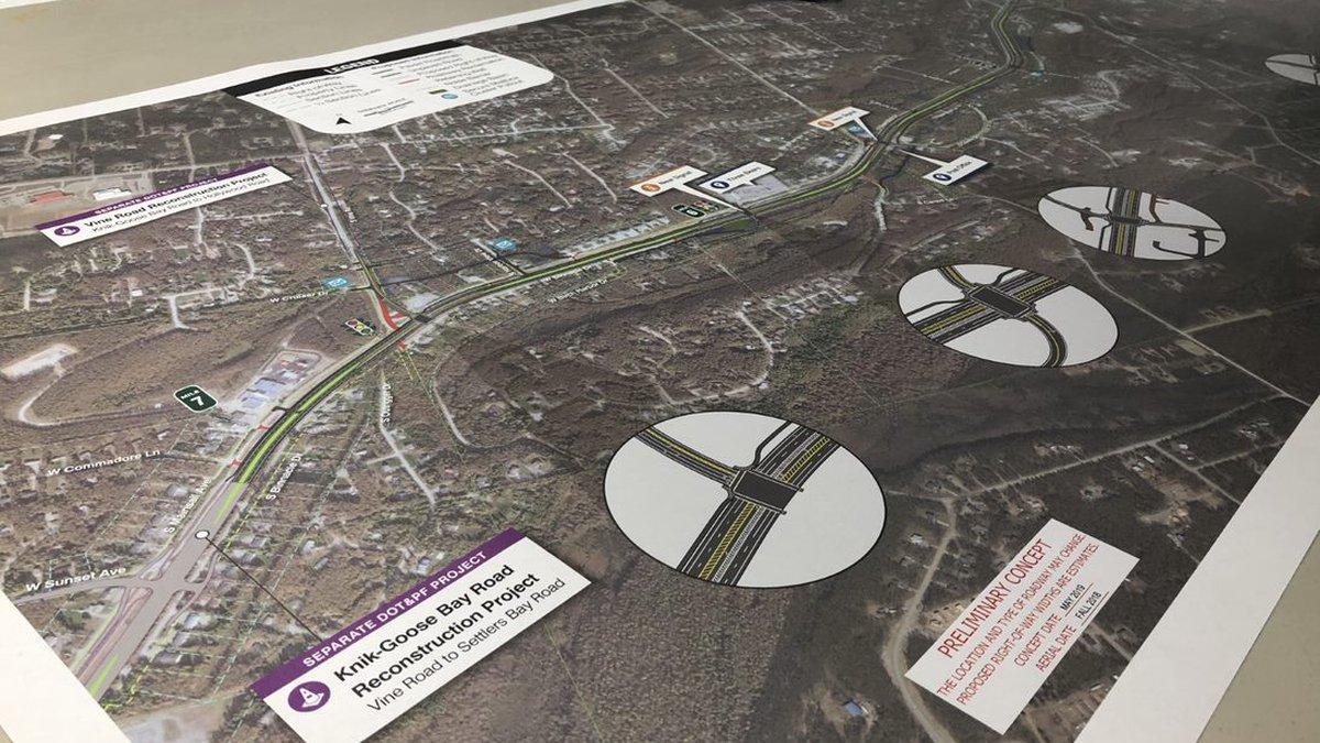 KGB Road Reconstruction Plan, KTUU