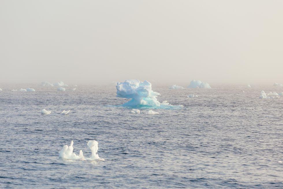 Pockets of warm water may be speeding up sea ice melt