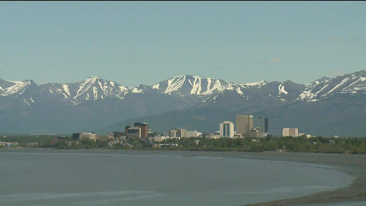 Anchorage skyline.
