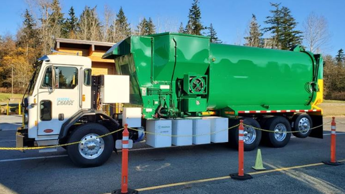 Anchorage to get first electric garbage truck