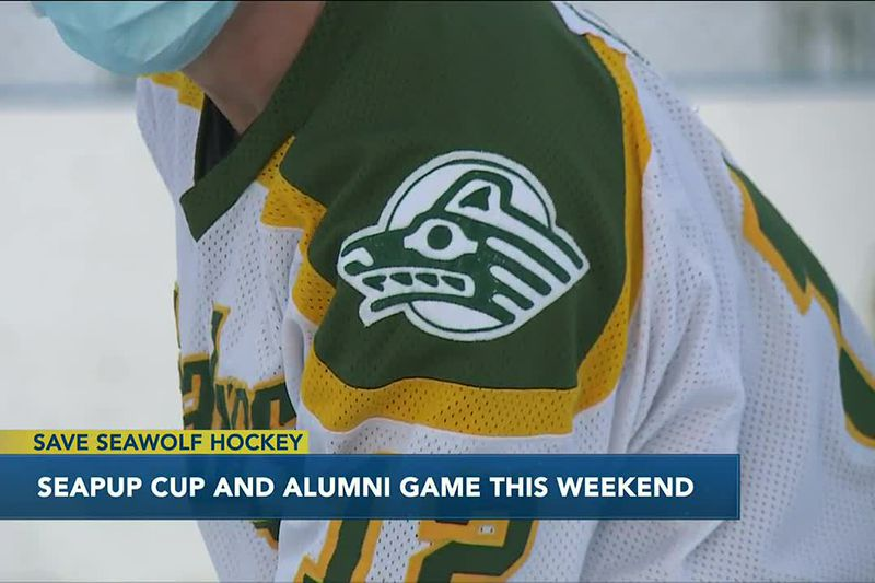 Future, former college hockey players take the ice this weekend to 'Save Seawolf Hockey'