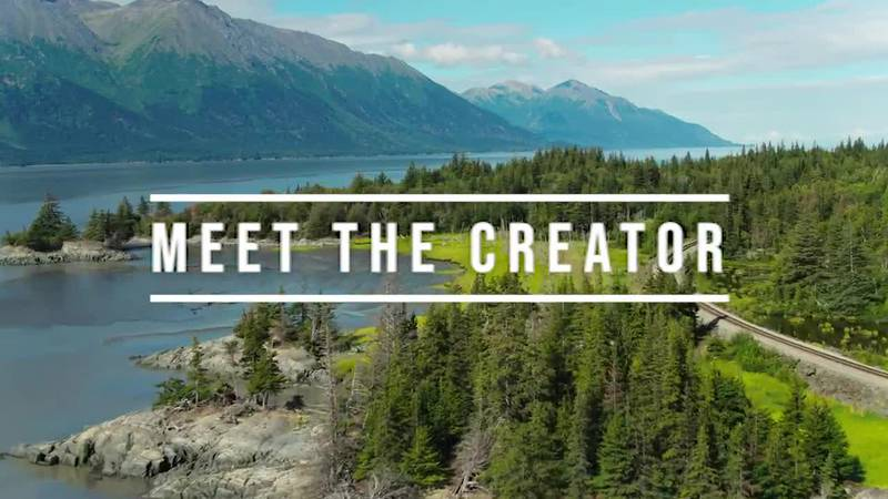 """This is the title for the """"Meet The Creator"""" series."""