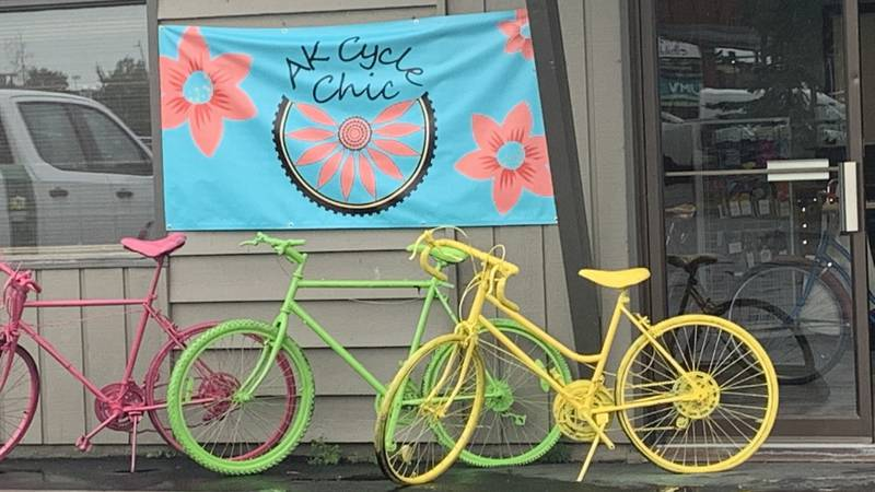 AK  Cycle Chic is a new bike boutique for women in midtown Anchorage