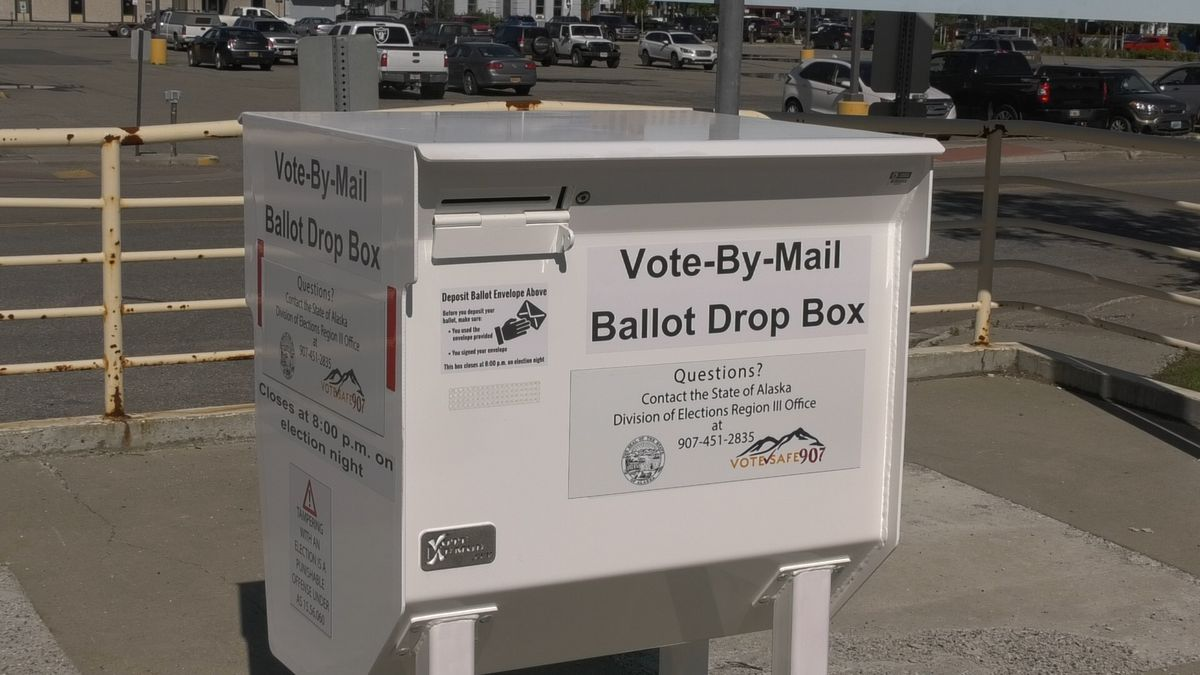 The state is providing Vote-By-Mail ballot drop boxes for voters to drop off absentee ballots.