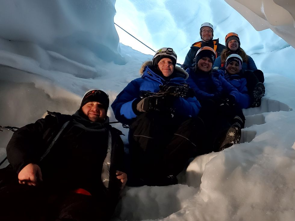Roadtrippin': Snowshoe and ice cave adventures in the Don Sheldon Amphitheater