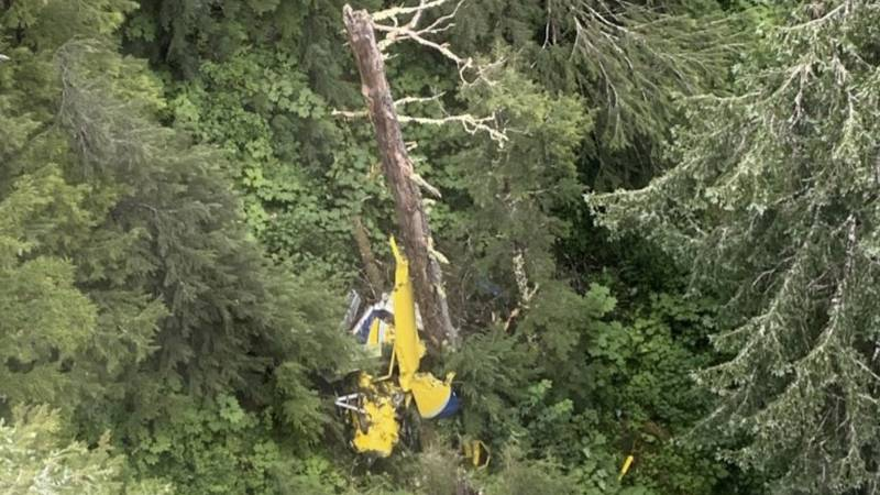 Southeast Aviation flight crashed August 5th, killed all six people onboard it