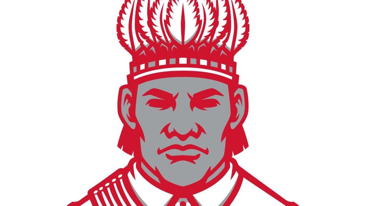 The Wasilla High School logo that represents Dena'ina Athabascan Chief Wasilla