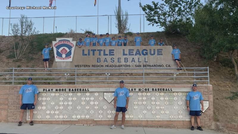 The Knik Little League All Stars.