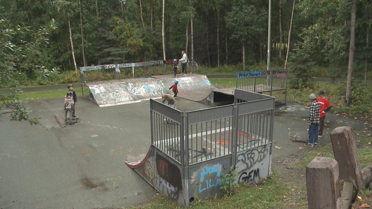 The Anchorage skate park that skaters in the community are raising money to renovate.