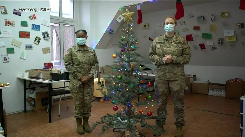 From afar, these service members send their holiday greetings