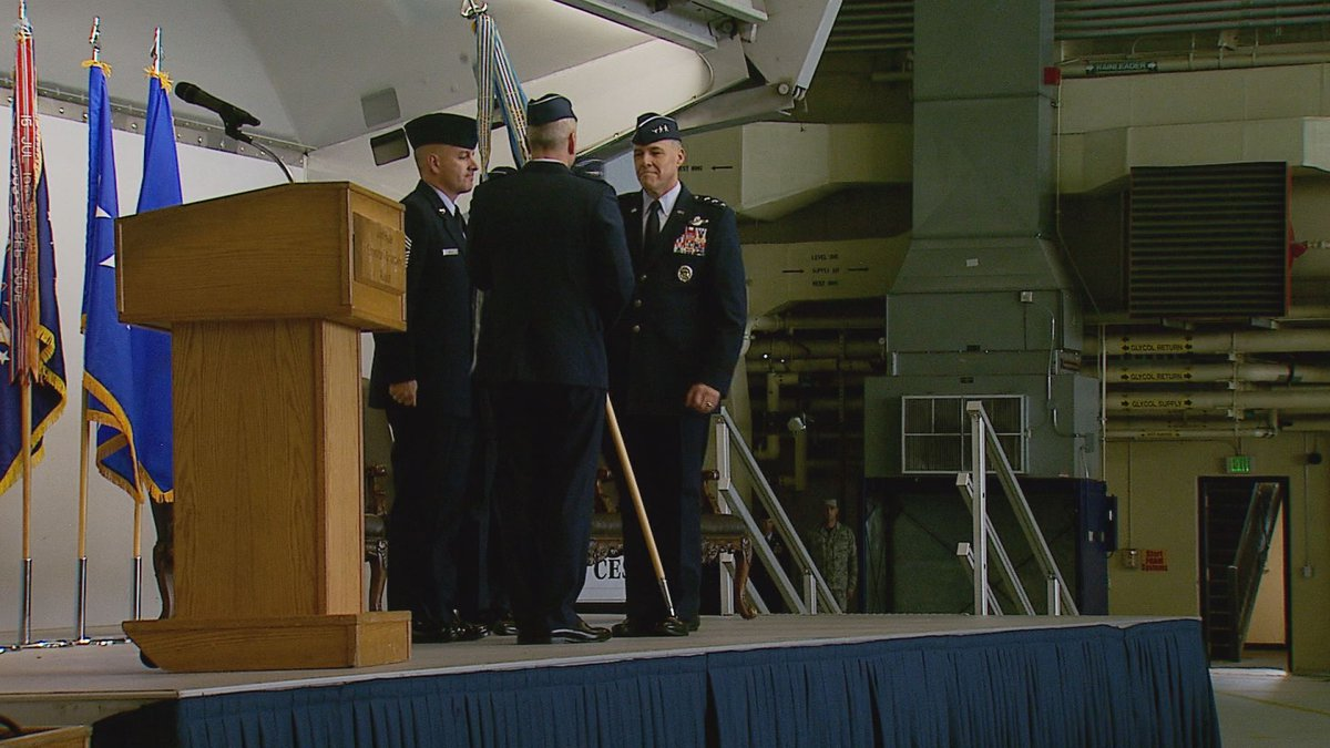 Lt. Gen. Thomas Bussiere takes command of the 11th Air Force, Alaska Command, and Alaska...