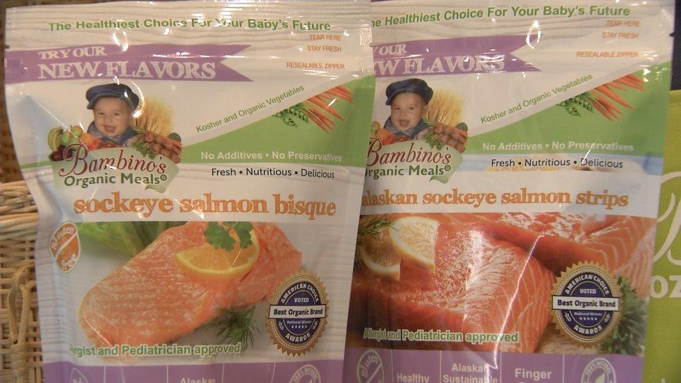 Bambino's Baby Food forms new salmon partnership with Bristol Bay Native Corp.