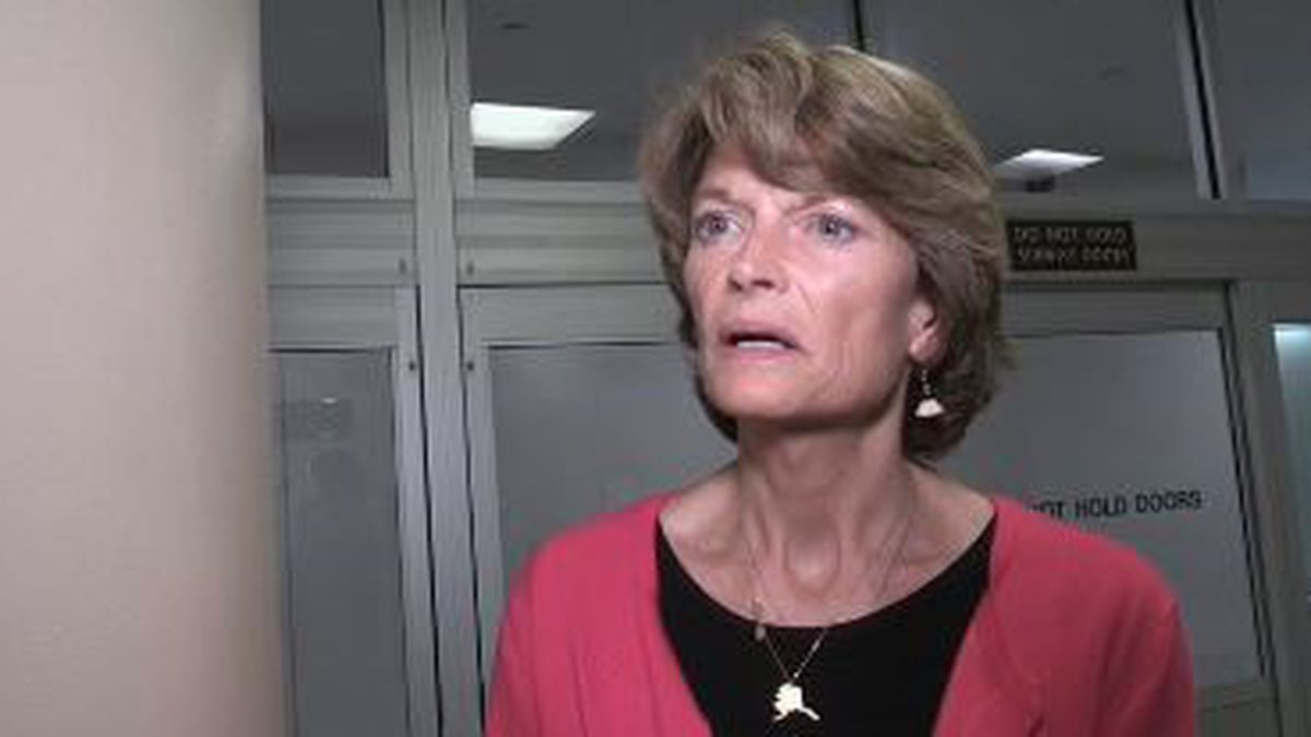 Sen. Lisa Murkowski during NBC News interview after vote on ACA repeal