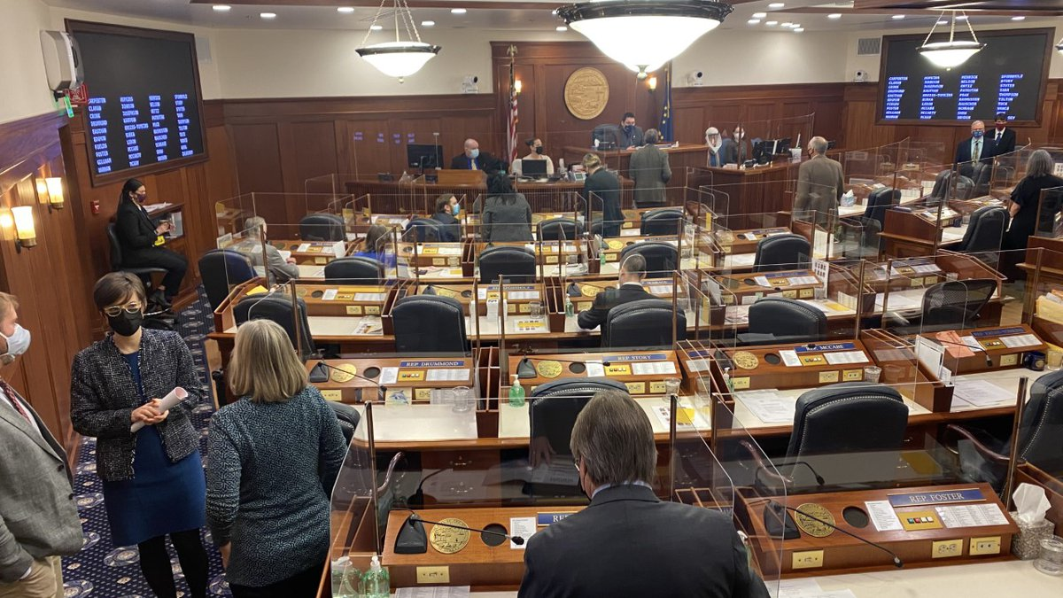 The Alaska House is halfway through its regular 90-day session, and this week the Capitol...