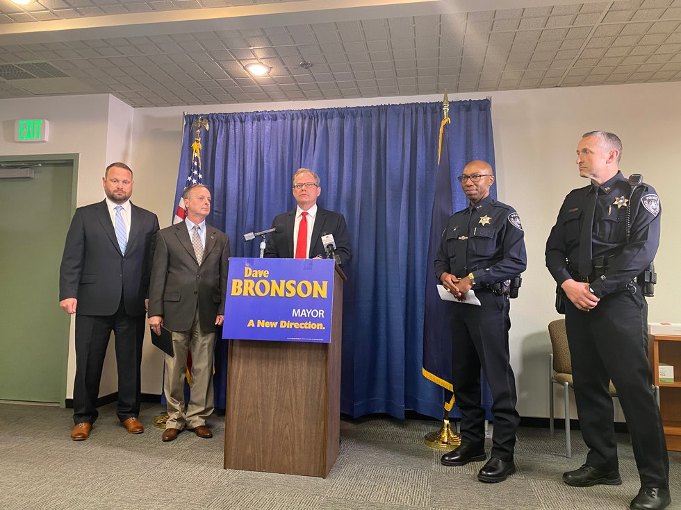 Anchorage Mayor-elect Dave Bronson will keep Ken McCoy as police chief, announces incoming...