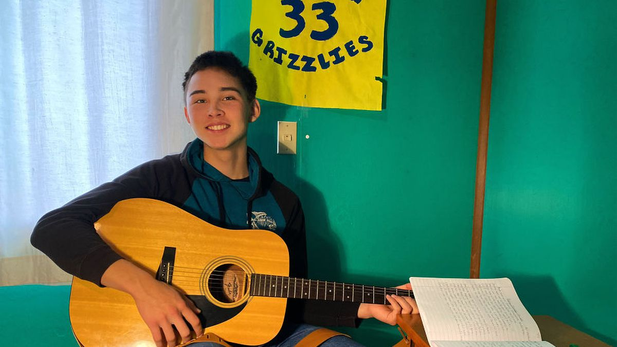 Martin Paul is a young Alaska Native from a village. He makes music that he hopes brings peace...