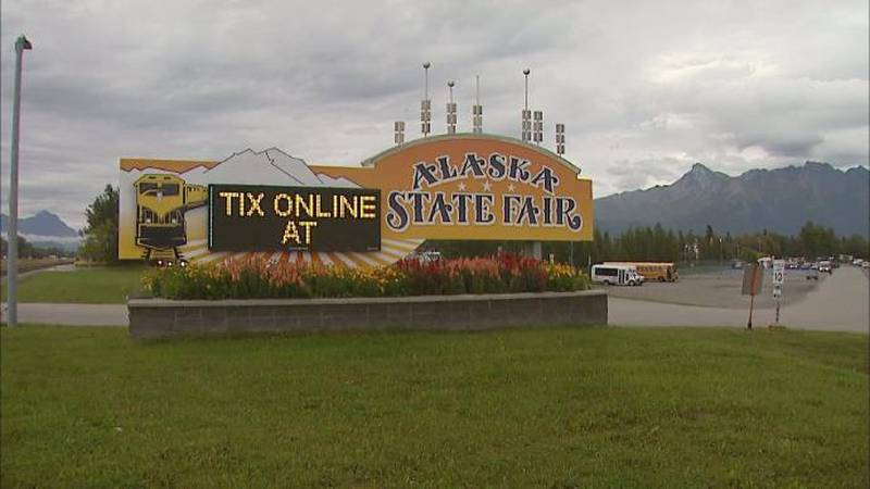 The Alaska State Fair in Palmer, Alaska.