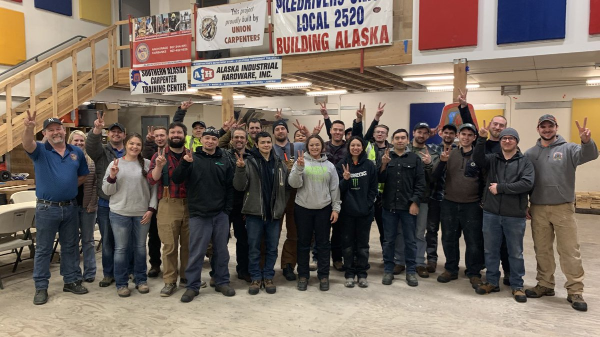 This week's breakfast club visit was to Southern Alaska Carpenters Training.