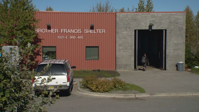 Health officials say there is a large COVID-19 outbreak at the Brother Francis Shelter.