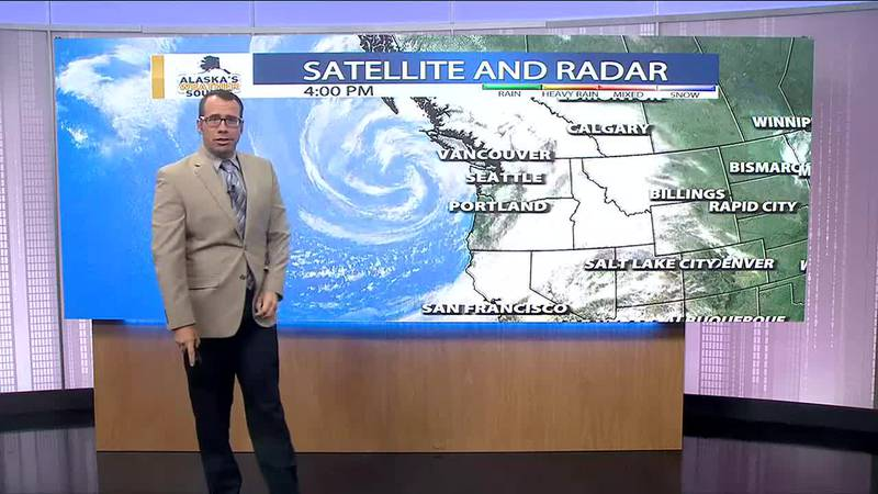 Stormy in the Pacific Northwest but quiet weather with above normal temps continue for...