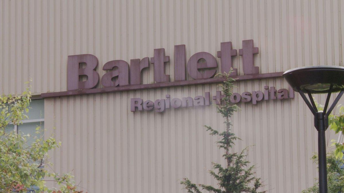 Bartlett Regional Hospital in Juneau, Alaska on Sept. 28, 2021.