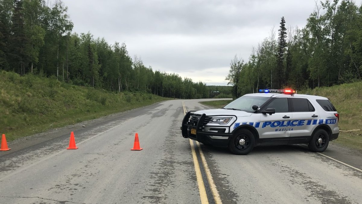 Wasilla Police have blocked off Aviation Ave. near the Wasilla Airport due to a deadly plane...