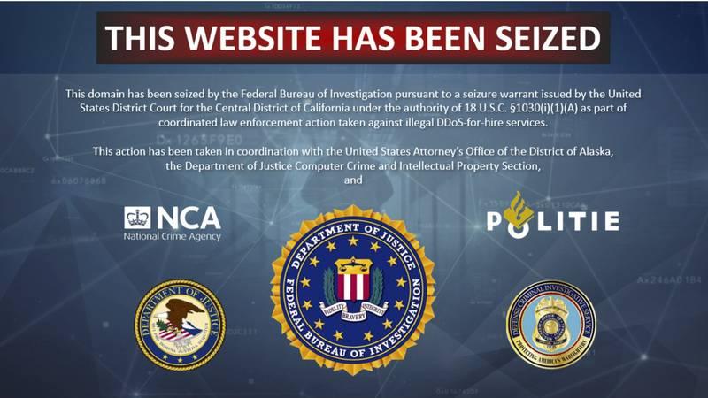 Down.Them.org is one of 15 sites FBI and DOJ seized to shutdown cybercriminals.