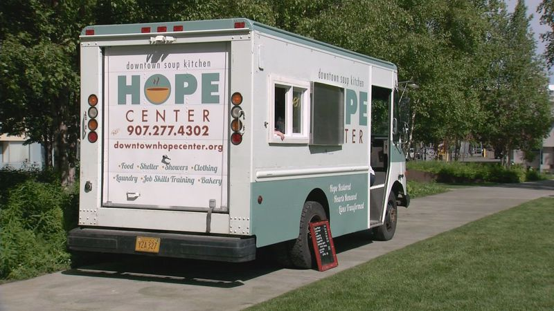 The Downtown Soup Kitchen launches its first food truck