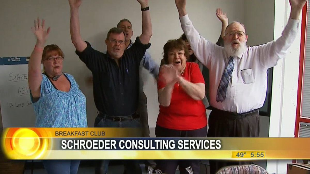 Breakfast club winners: Schroeder Consulting Services in Anchorage.
