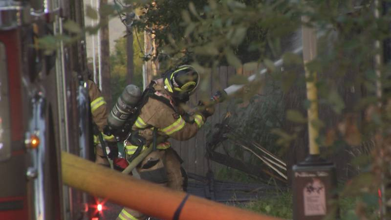 Anchorage Fire Department Assistant Chief Alex Boyd says the call of the fire came in around...