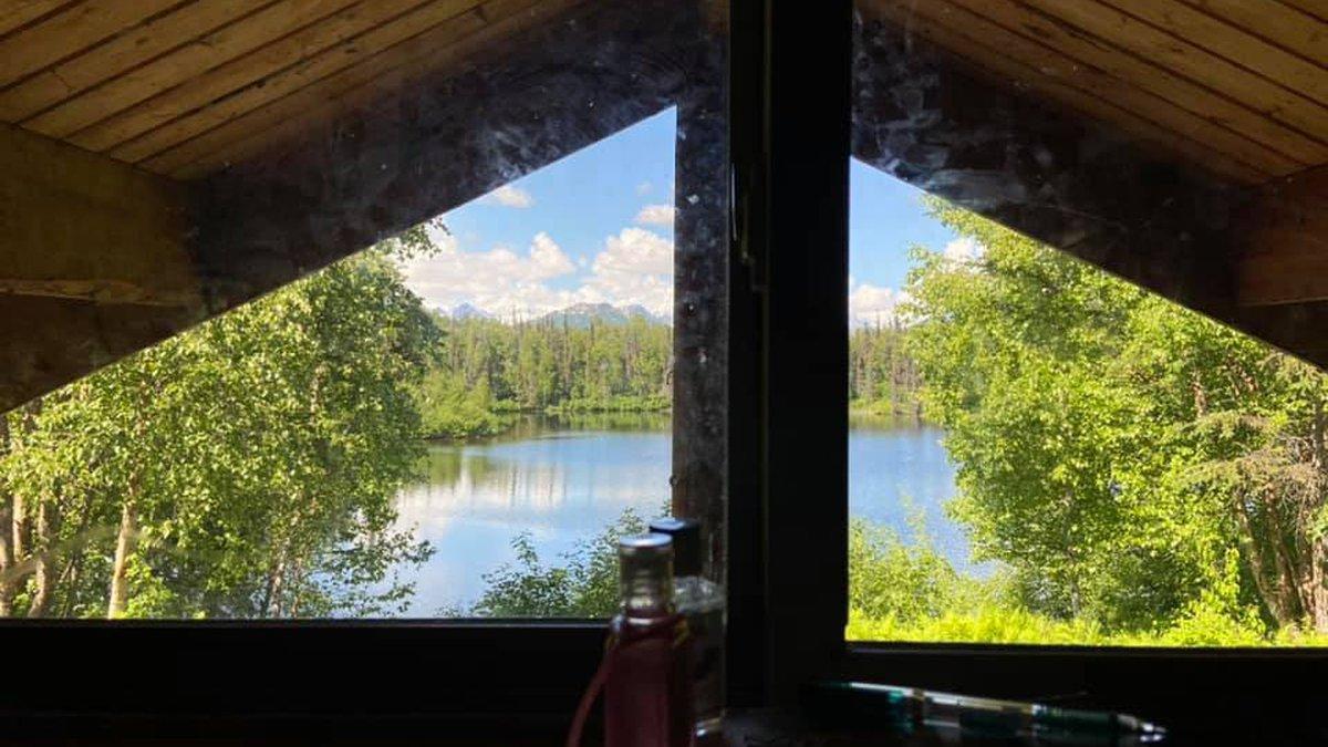 Byers Lake Cabin 2