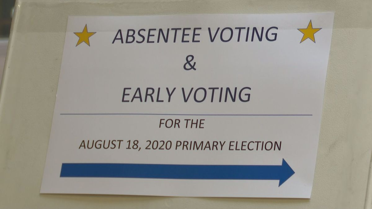 Absentee voting in Alaska.