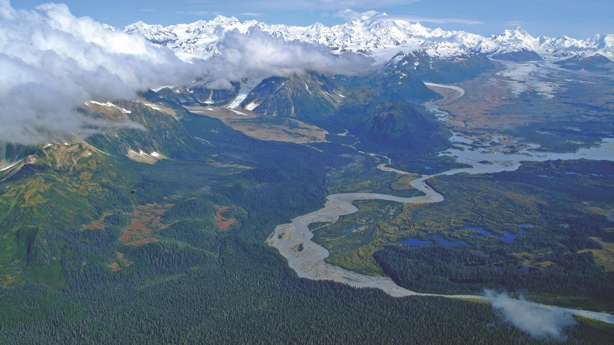 The Bering River, which sits east of the Copper River Delta, contains a coal deposit that some...