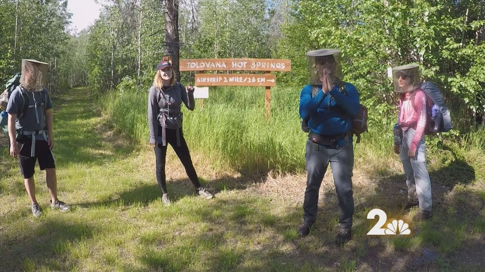 After almost 11 miles of hard hiking, bugs, and bogs we reached our destination.