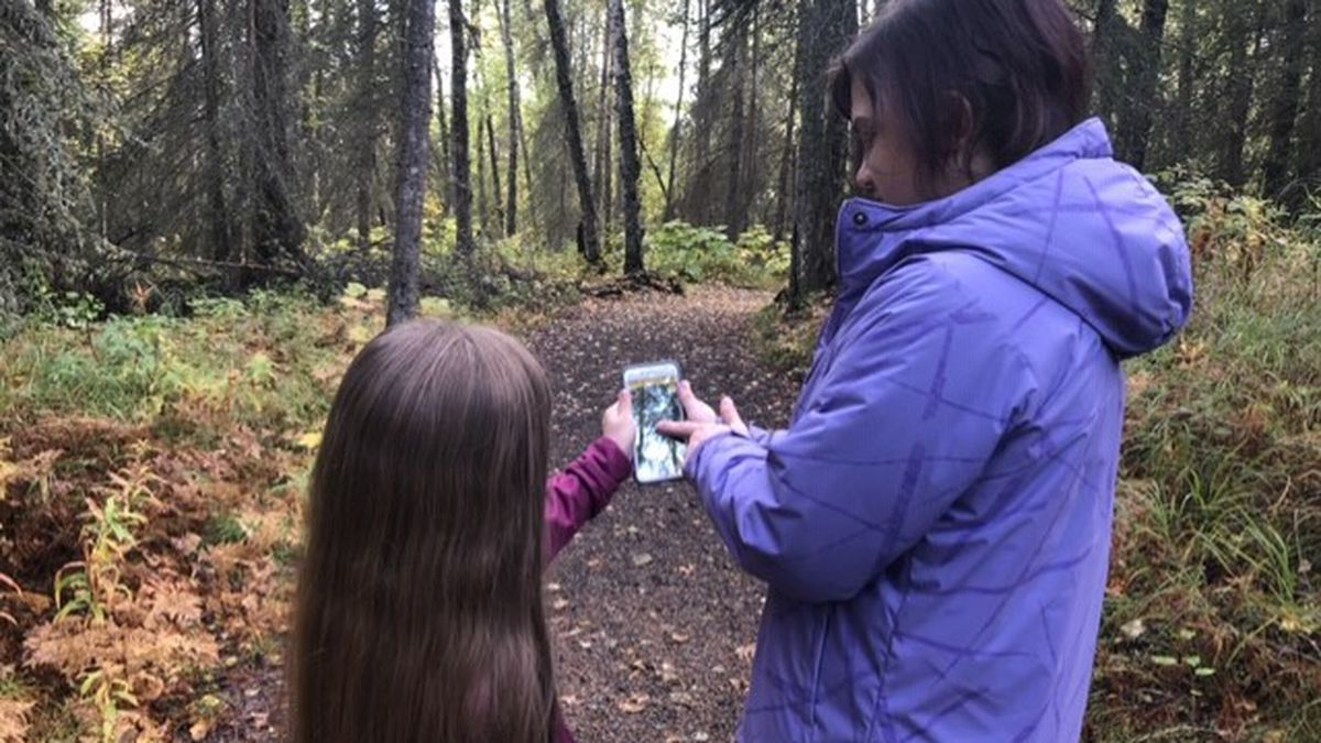 Two of Alaska's wildlife refuges use new Agents of Discovery App to get kids outside