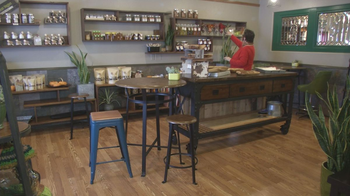 Bistro Red Beet added more retail space for handcrafted food items.