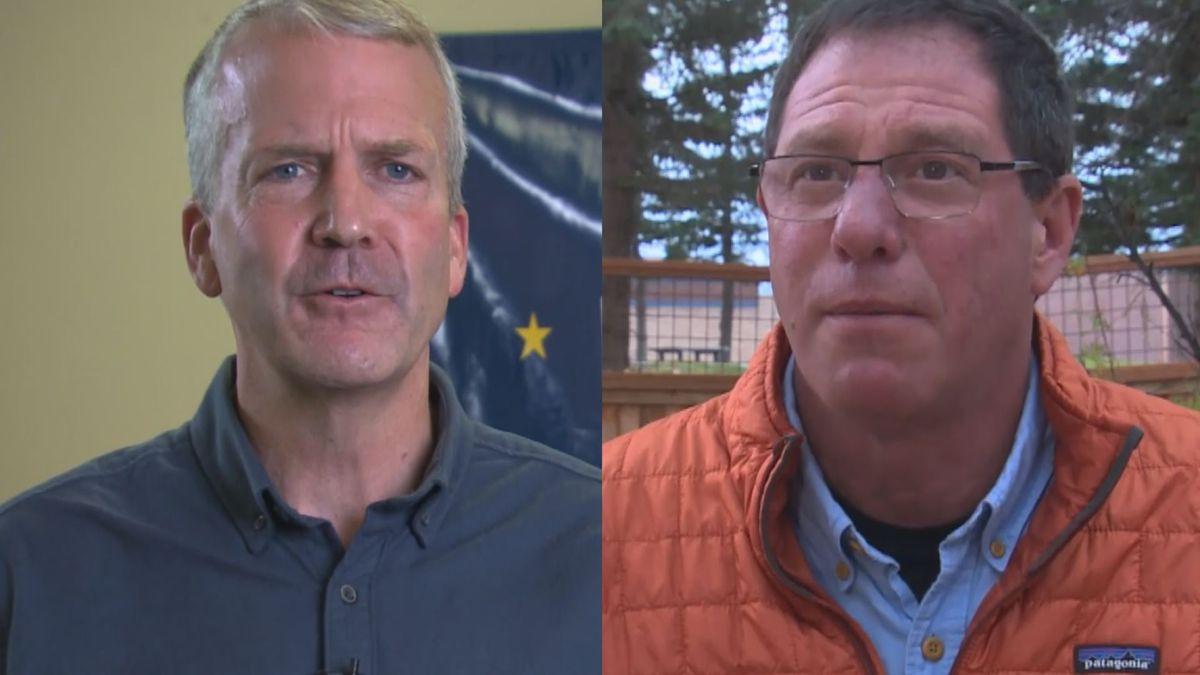 Sen. Dan Sullivan, R-Alaska, and Dr. Al Gross have starkly different views on health care.