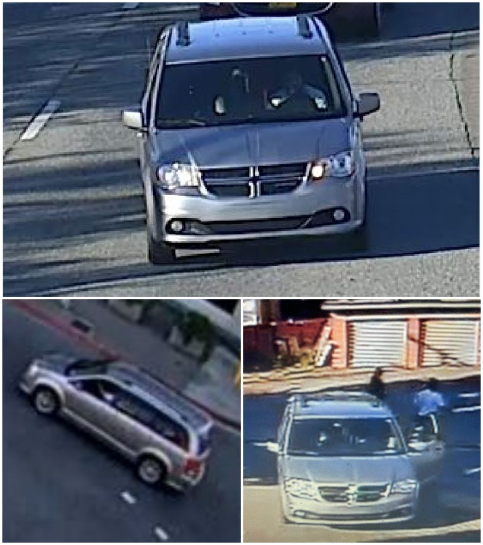 Anchorage police have provided photos of the vehicle they believe the shooting suspect left the scene in.