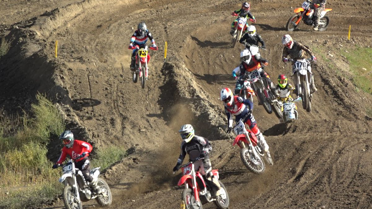 Racers tear through the dirt at the Anchorage Racing Lions Championship series. With only a couple races left in the season, they're playing it safe with strict COVID safety rules so they can finish.