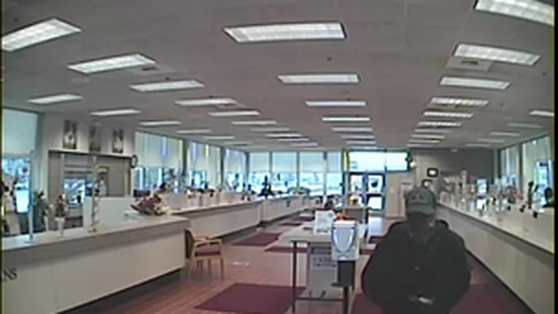 Federal investigators are looking for the person who the FBI says robbed an Anchorage bank on...