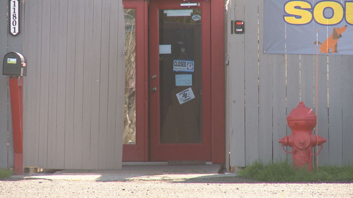Law enforcement seized evidence Aug. 10 from a storage unit in the back yard of 11801 Old...