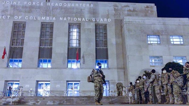 Alaska National Guard soldiers and airmen are in Washington, D.C. for the presidential...