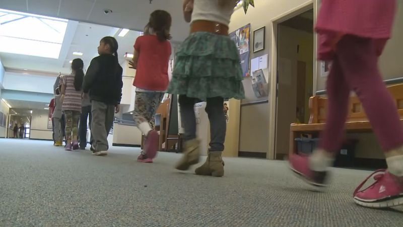 Anchorage schools are experiencing COVID-19 in the classroom since students returned two weeks...