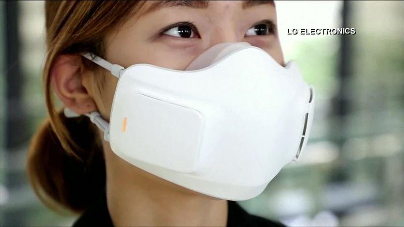 now that masks have become part of our everyday life, why not add a little tech