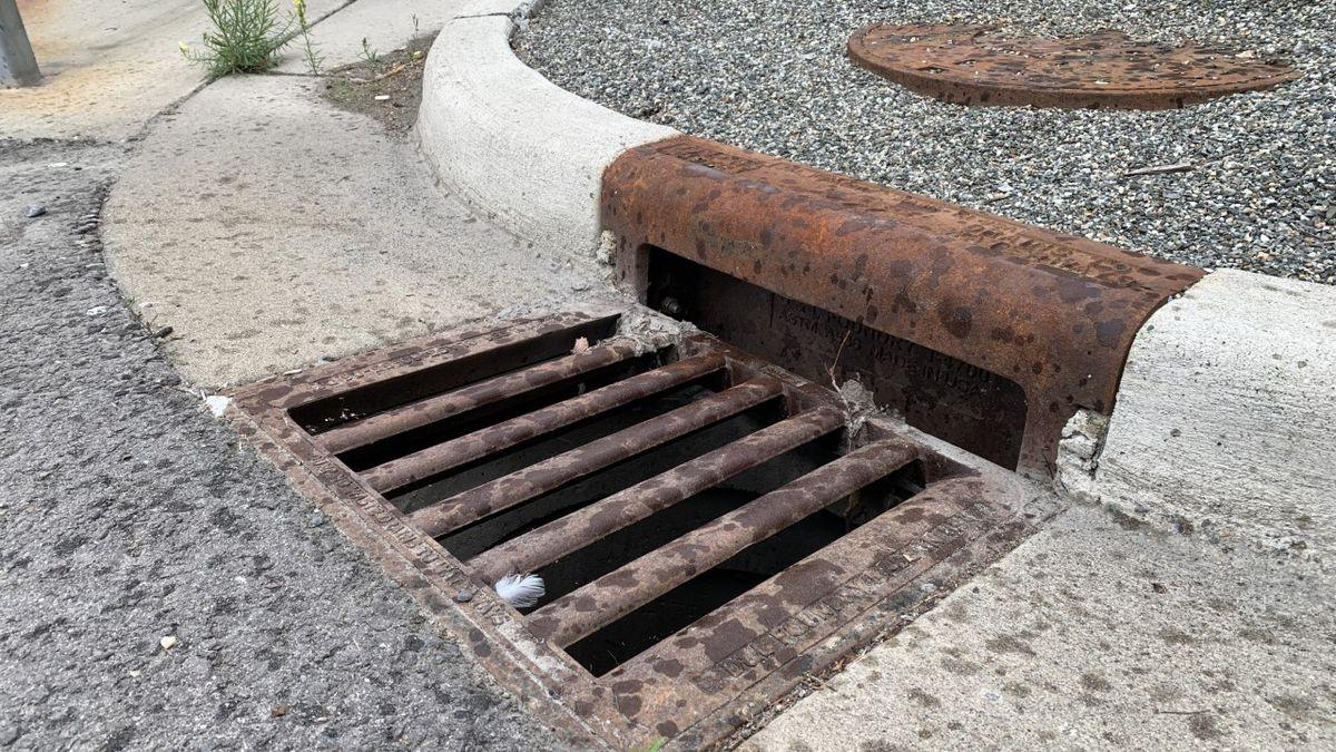 Storm drains around Anchorage are being stolen.