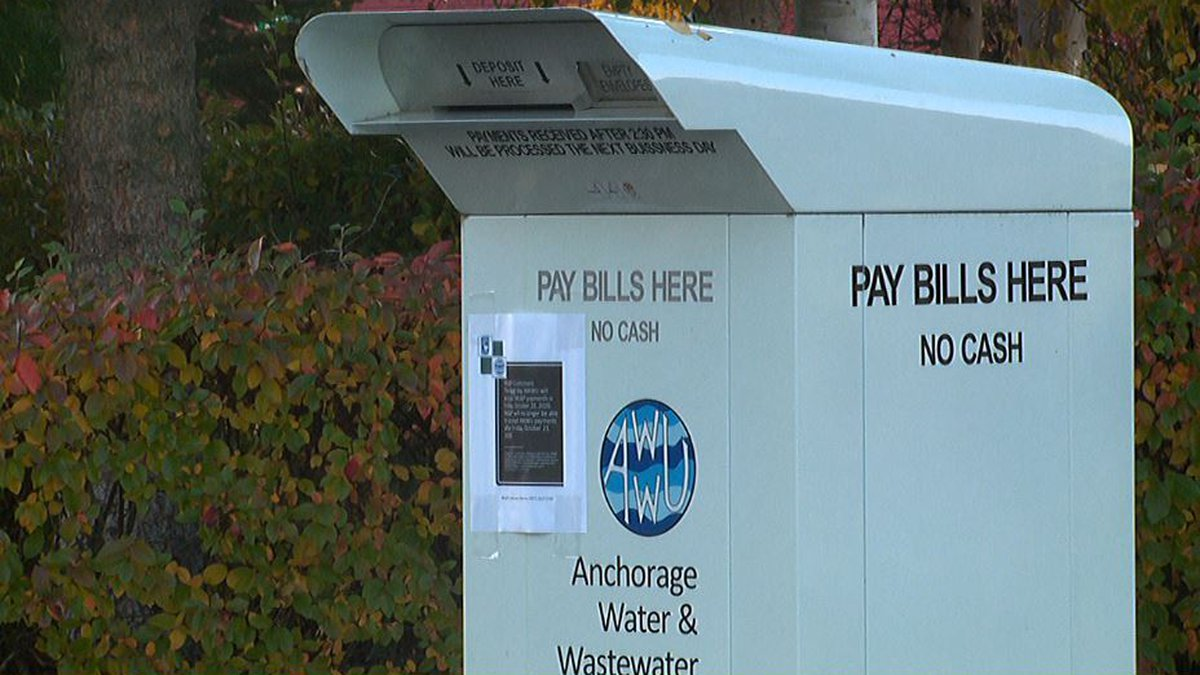 Anchorage Water and Wastewater Utility said if service needs to be interrupted, customers will...