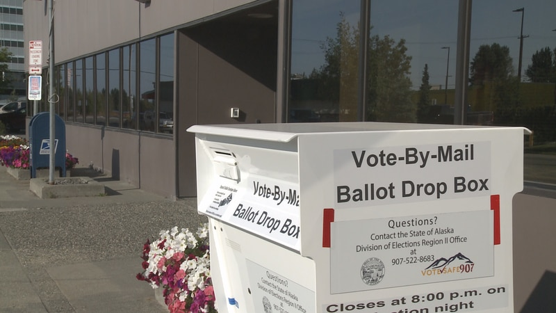 Absentee ballots can be mailed or dropped off at secure drop boxes throughout Anchorage.