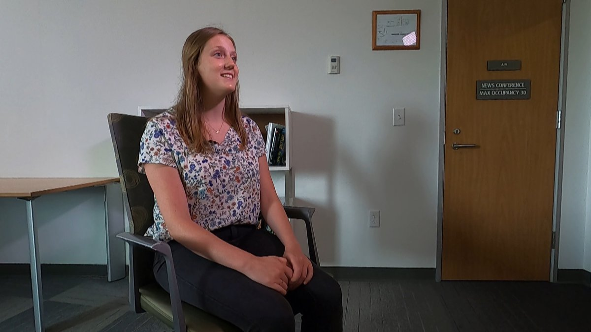 Brand new Anchorage School District fifth grade teacher, Katie Bozone is geared up and ready to...