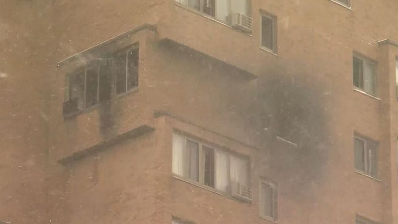 A fire in a Minneapolis high rise claimed five lives Wednesday. (Source: WCCO/CNN)
