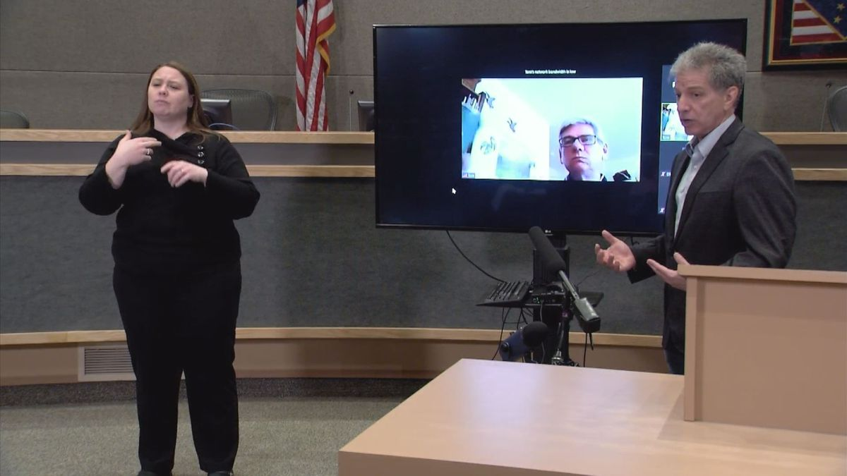 Watch Anchorage Mayor Ethan Berkowitz Gives Public Briefing On Muni Covid 19 Response